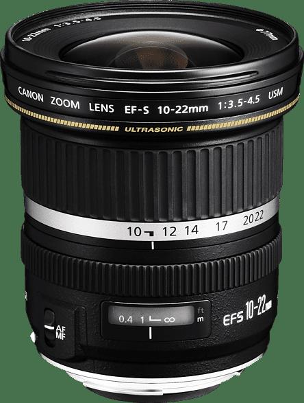 Black Canon EF-S 10-22 IS STM Lens.1