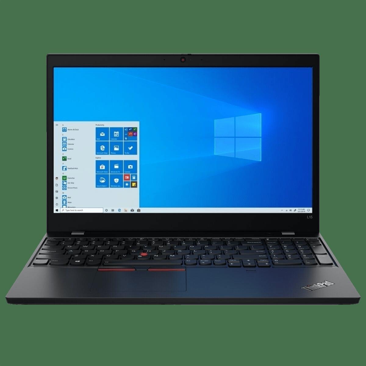 Schwarz Lenovo ThinkPad L15.1