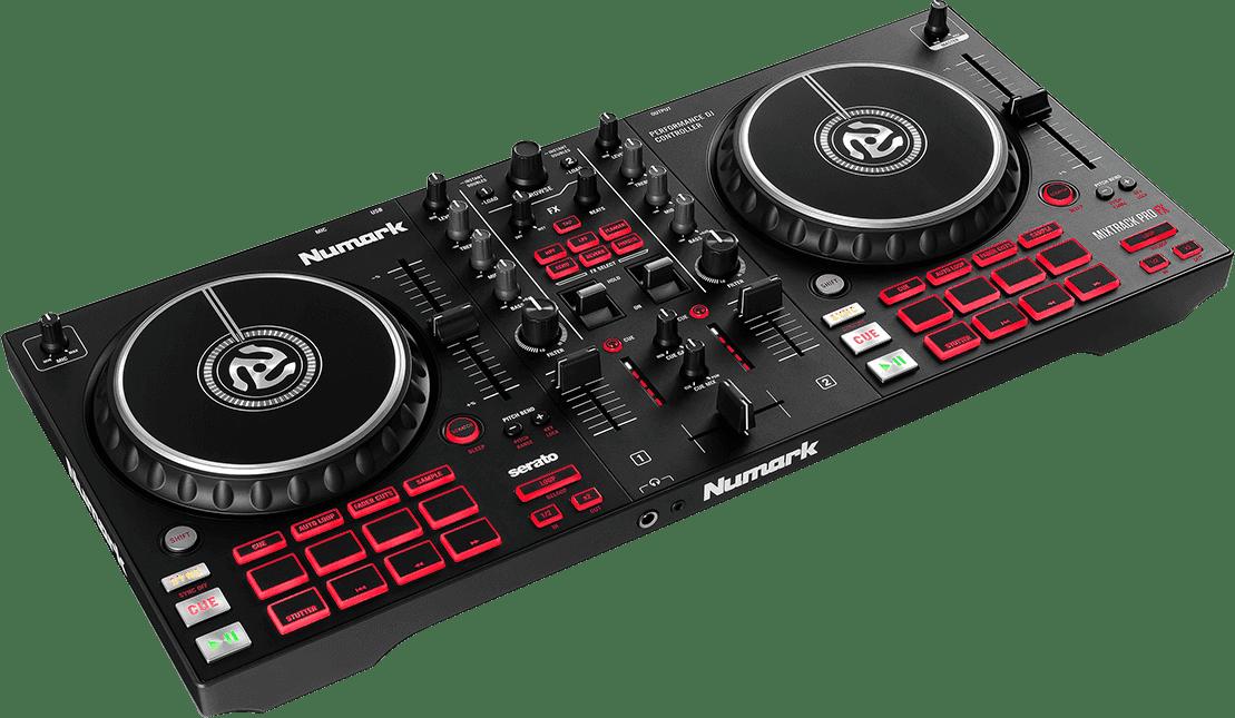Black Numark Mixtrack FX Pro DJ controller.1
