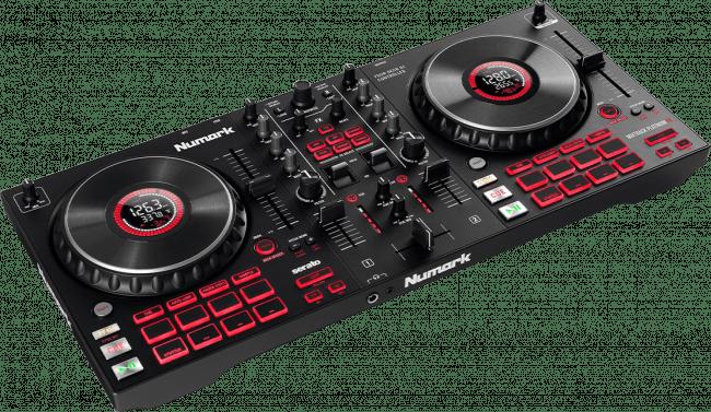 Black Numark Mixtrack Platinum FX DJ controller.1