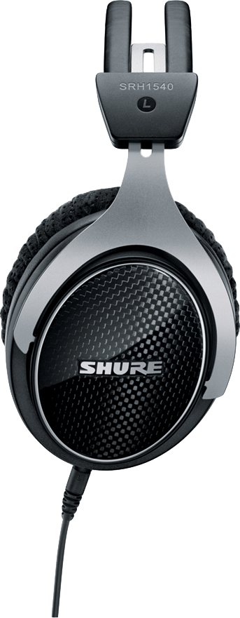 Black Shure SRH1540 Over-ear Bluetooth Headphones.3