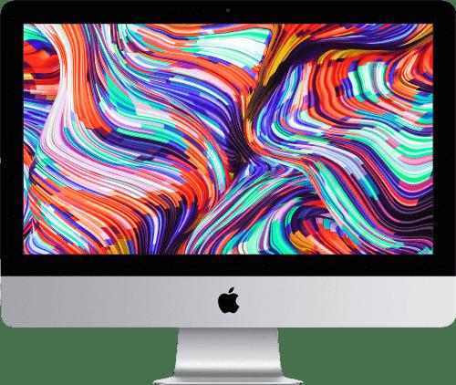 "Silber Apple 21.5"" iMac Retina 4K (Mid 2020).1"