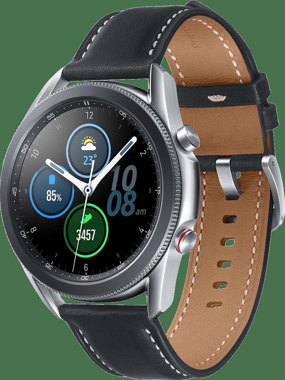 Mystic Silber Samsung Galaxy Watch 3 (LTE), 45mm.1