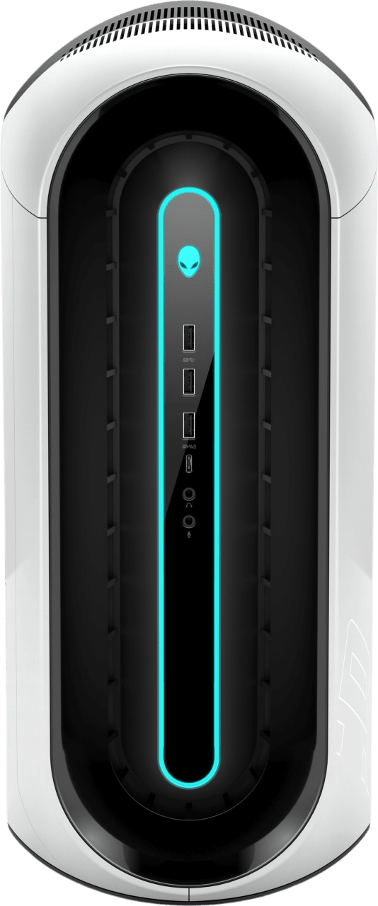 White Alienware Aurora R10.3
