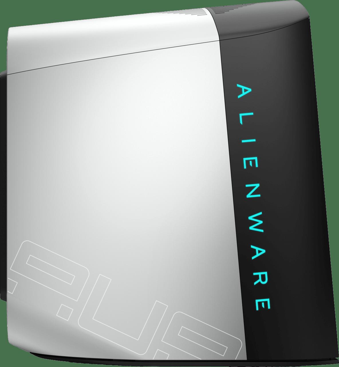 White Alienware Aurora R10.2