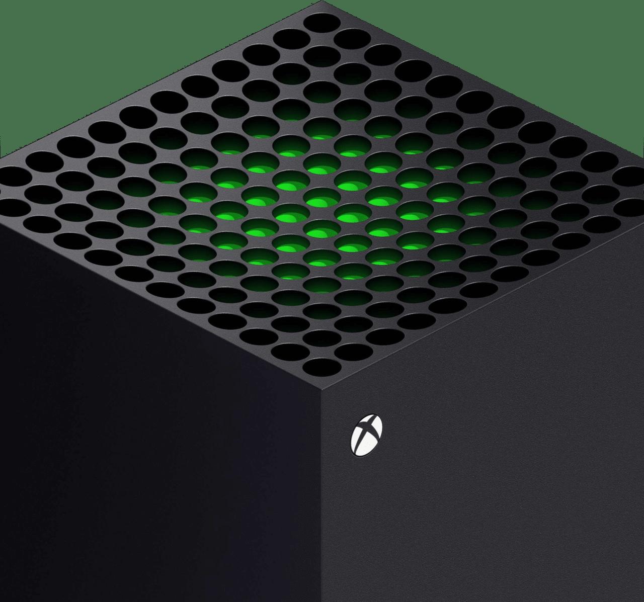 Schwarz Microsoft Xbox Series X.3