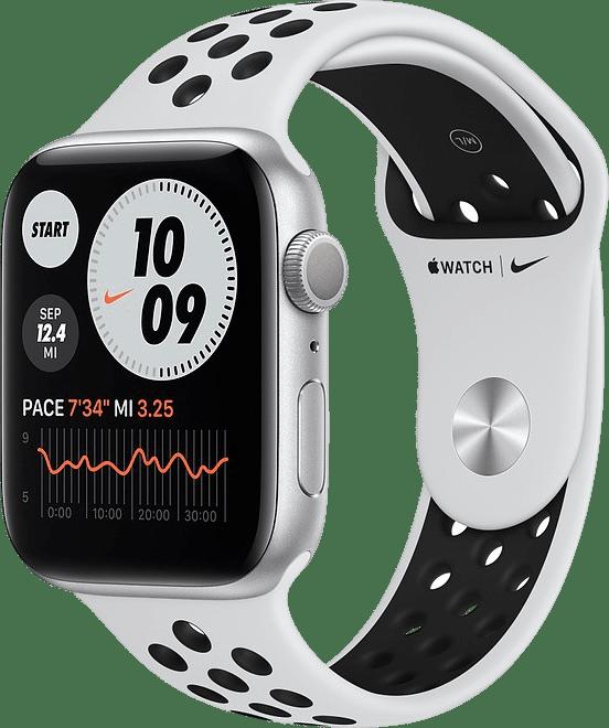 Platinum/black Apple Watch Nike Series 6 GPS, 40mm.1