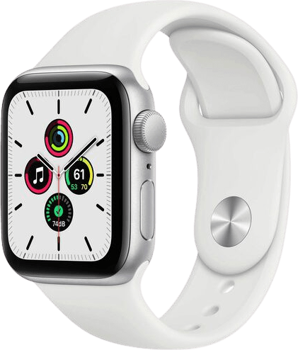 White Apple Watch SE GPS + Cellular, 44mm.1