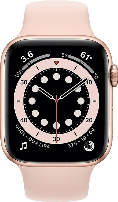 Sand pink Apple Watch Series 6 GPS + Cellular, 40mm Aluminium case, Sport band.2