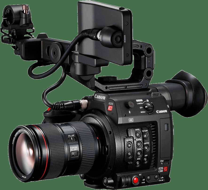 Black Canon EOS C200 Kit (24-105mm Lens).1