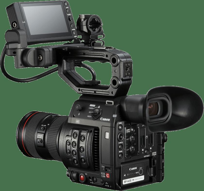 Black Canon EOS C200 Kit (24-105mm Lens).2