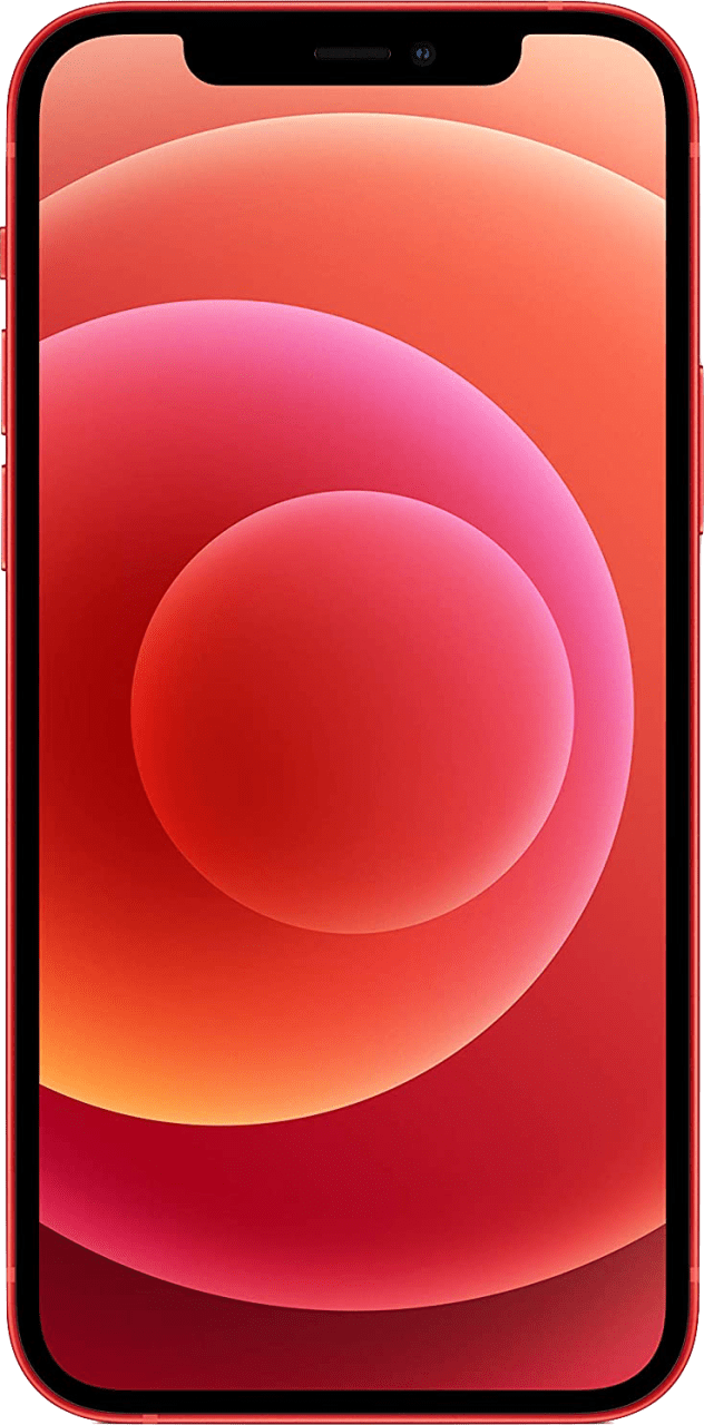 (Product)Red Apple iPhone 12 mini 128GB.2