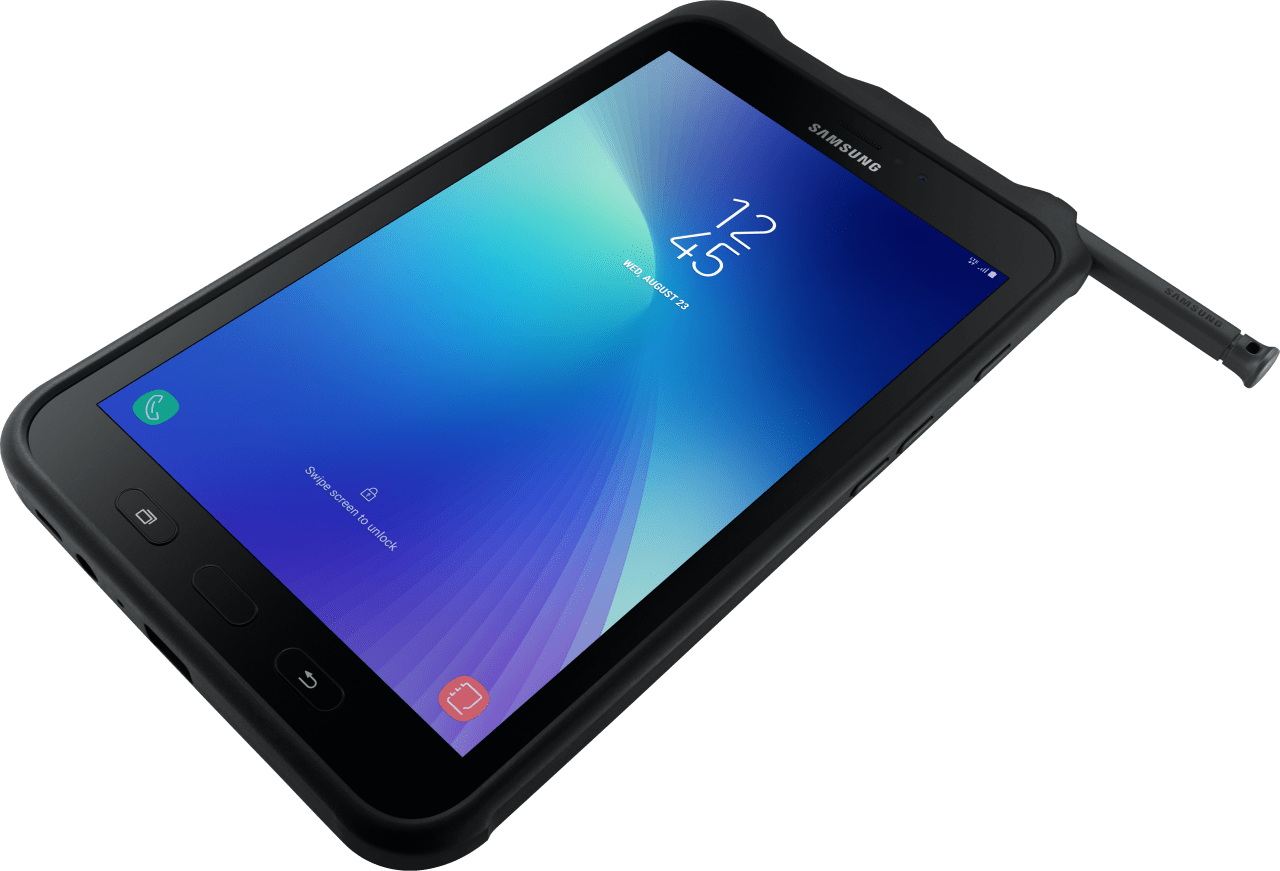Black Samsung Galaxy Tab Active 2 16GB (SM-T395).2