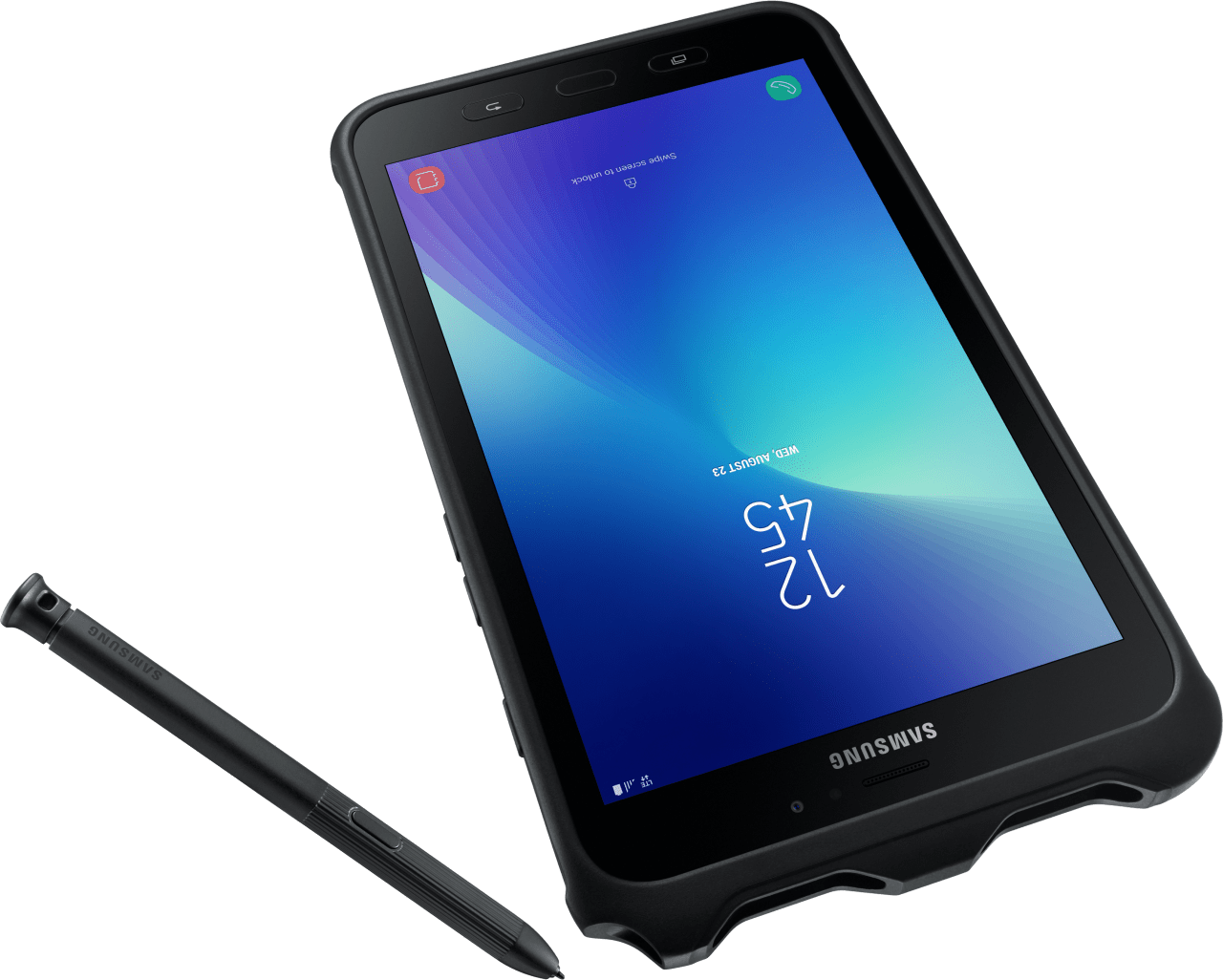 Black Samsung Galaxy Tab Active 2 16GB (SM-T395).3