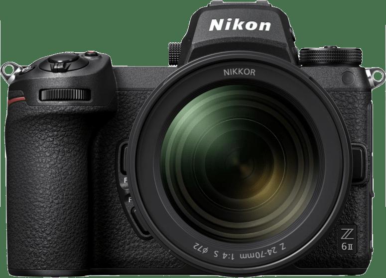 Black Nikon Z6 II System Camera + 24 - 70mm Lens Kit.1