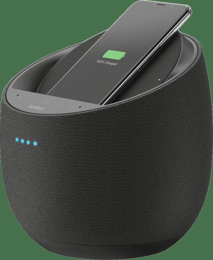Schwarz Belkin Soundform Elite Hi-Fi Smart Speaker (Google Assistant) Smart Speaker.1
