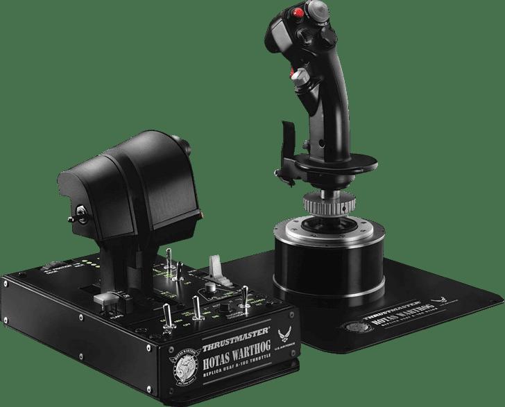 Black Thrustmaster Hotas Warthog.1