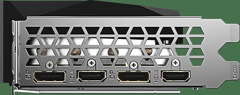 Black GigaByte GeForce® RTX™ 3070 Gaming OC Graphics Card.3