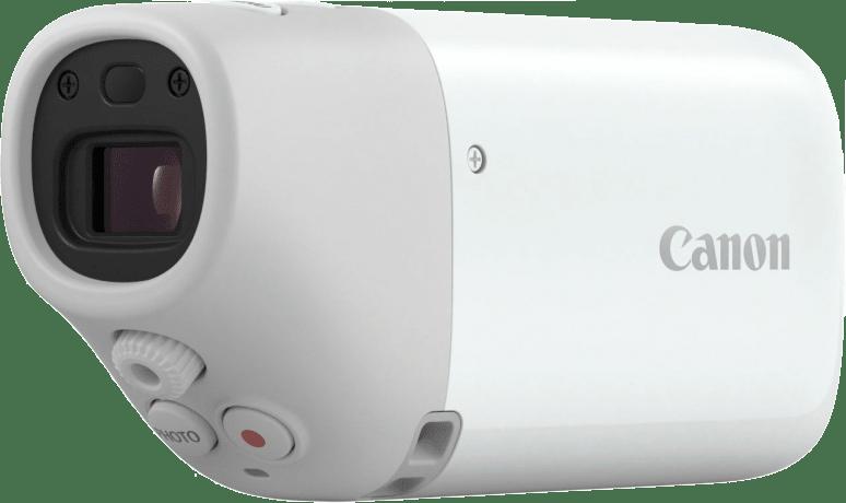 White Canon Powershot Zoom.2