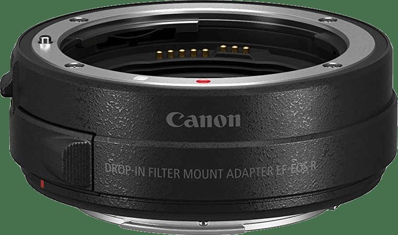 Zwart Canon Bayonet adapter EF - EOS R.2