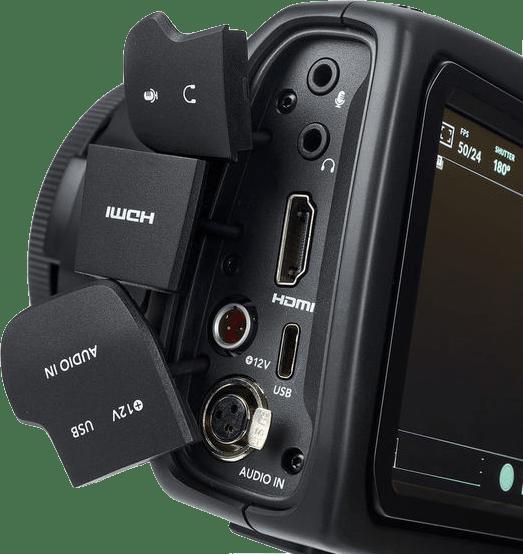 Black Blackmagic Pocket Cinema 6K.4