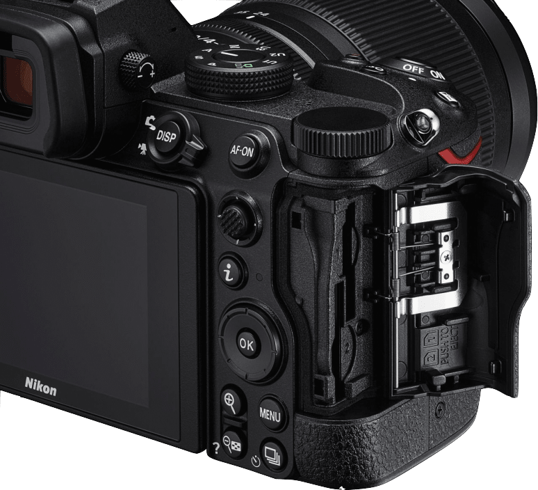 Black Nikon Z 5 System Camera (Body).4