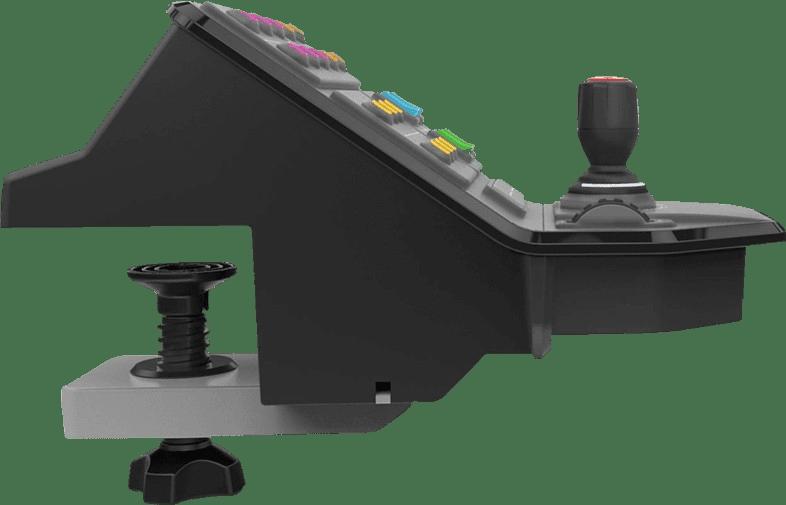 Schwarz Logitech Saitek G Landwirtschafts-Simulator-Controller.2