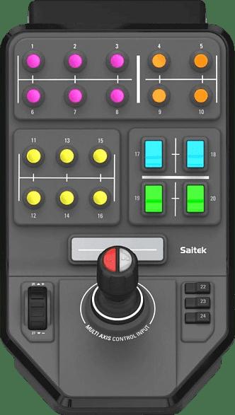 Schwarz Logitech Saitek G Landwirtschafts-Simulator-Controller.4