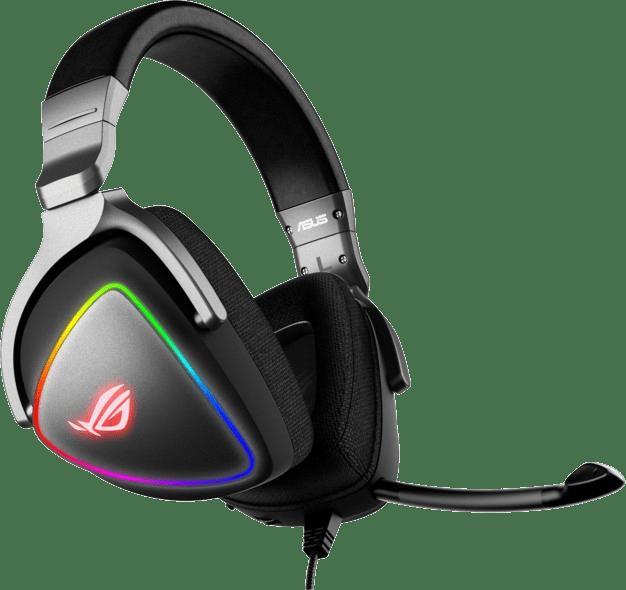 Schwarz Asus ROG Delta Over-Ear-Gaming-Kopfhörer.4