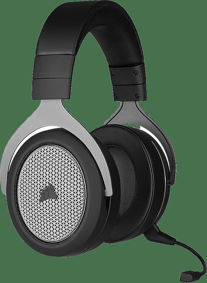 Schwarz / Silber Corsair HS75 XB Drahtloser Over-Ear Gaming-Kopfhörer.4