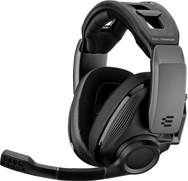 Black EPOS Sennheiser GSP 670 Over-ear Gaming Headphones.1