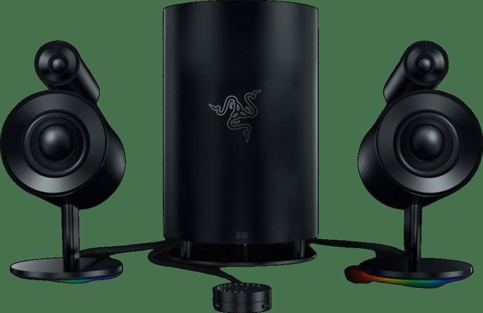 Negro Altavoces para juegos Razer Nommo Pro.1