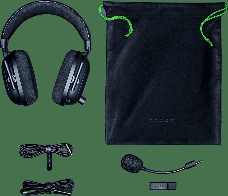 Black Razer Blackshark V2 Pro Over-ear Gaming Headphones.4