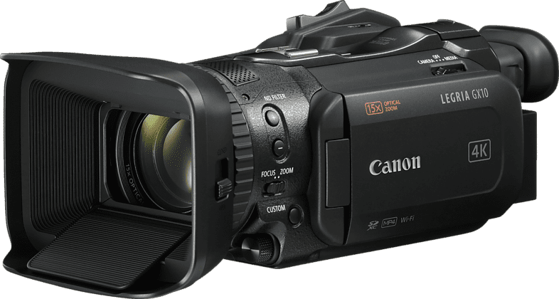Zwart Canon Legria GX10 Professional Camcorder.1