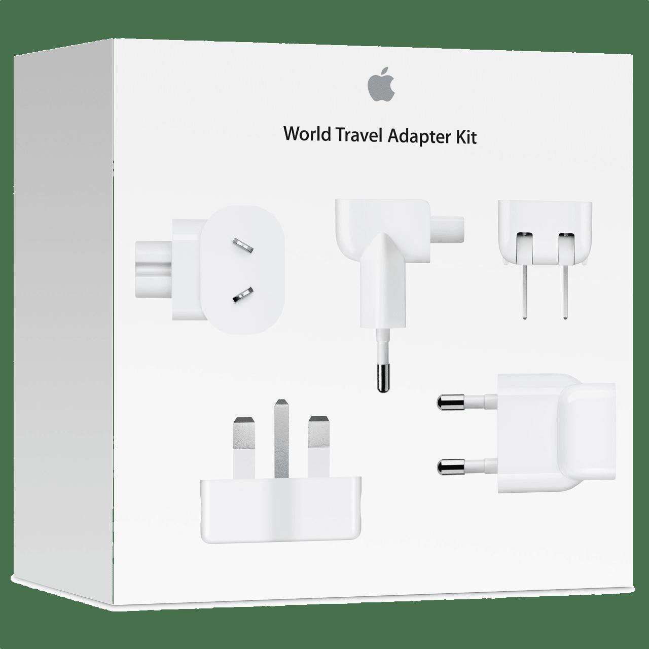 White Apple Apple World Travel Adapter Kit Power.1