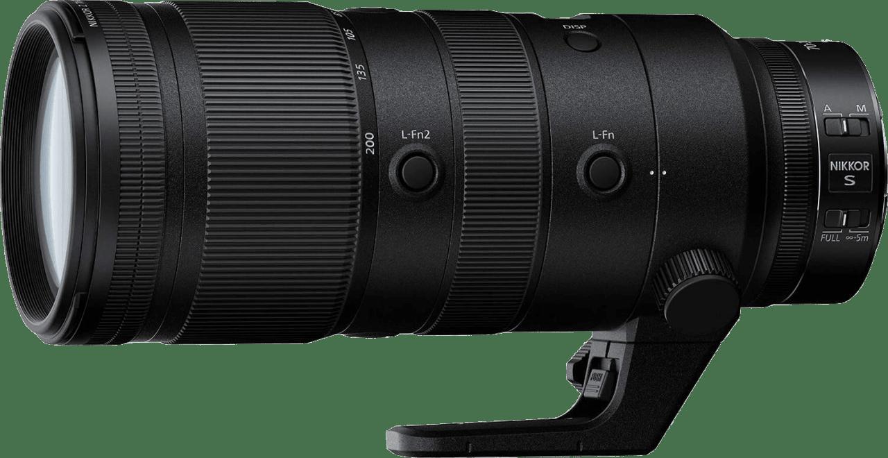 Negro Nikon Nikkor Z 70-200mm f2.8 VR S Lens.2