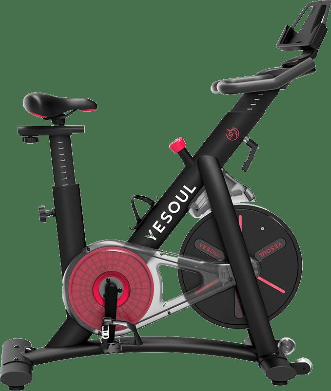 Black Yesoul Smart Exercise Bike S3.1