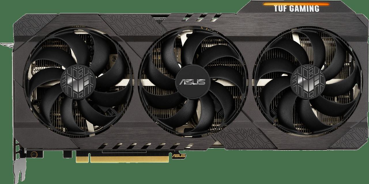 Black Asus TUF Gaming TUF-RTX3070-O8G-GAMING Graphics Card.1