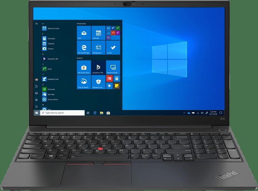 Black Lenovo ThinkPad E15 G2 Laptop - Intel® Core™ i7-1165G7 - 16GB - 512GB SSD - Intel® Iris® Xe Graphics.1