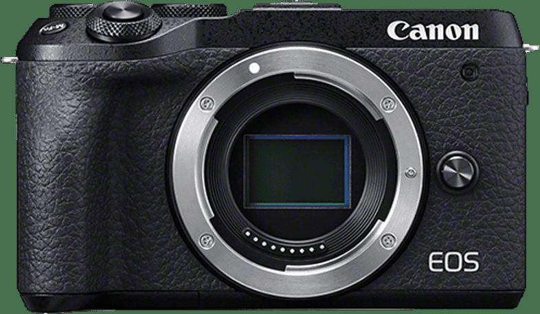 Schwarz Canon EOS M6 Mark II System Camera (Gehäuse).1