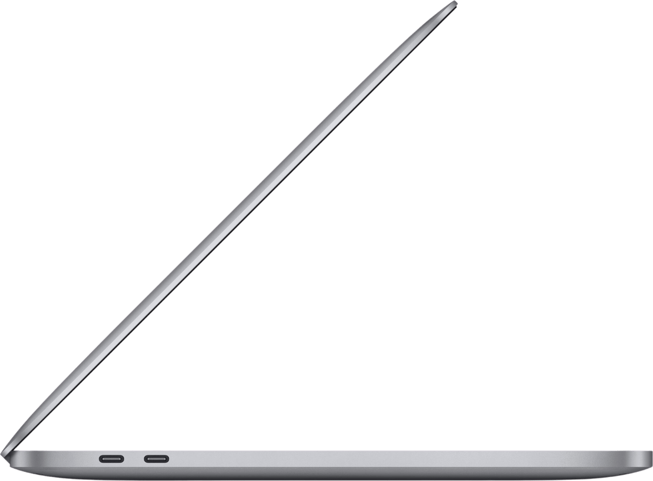 "Space Grey Apple 13"" MacBook Pro (Late 2020) - English (QWERTY) Laptop - Apple M1 - 8GB - 512GB SSD - Apple Integrated 8-core GPU.3"