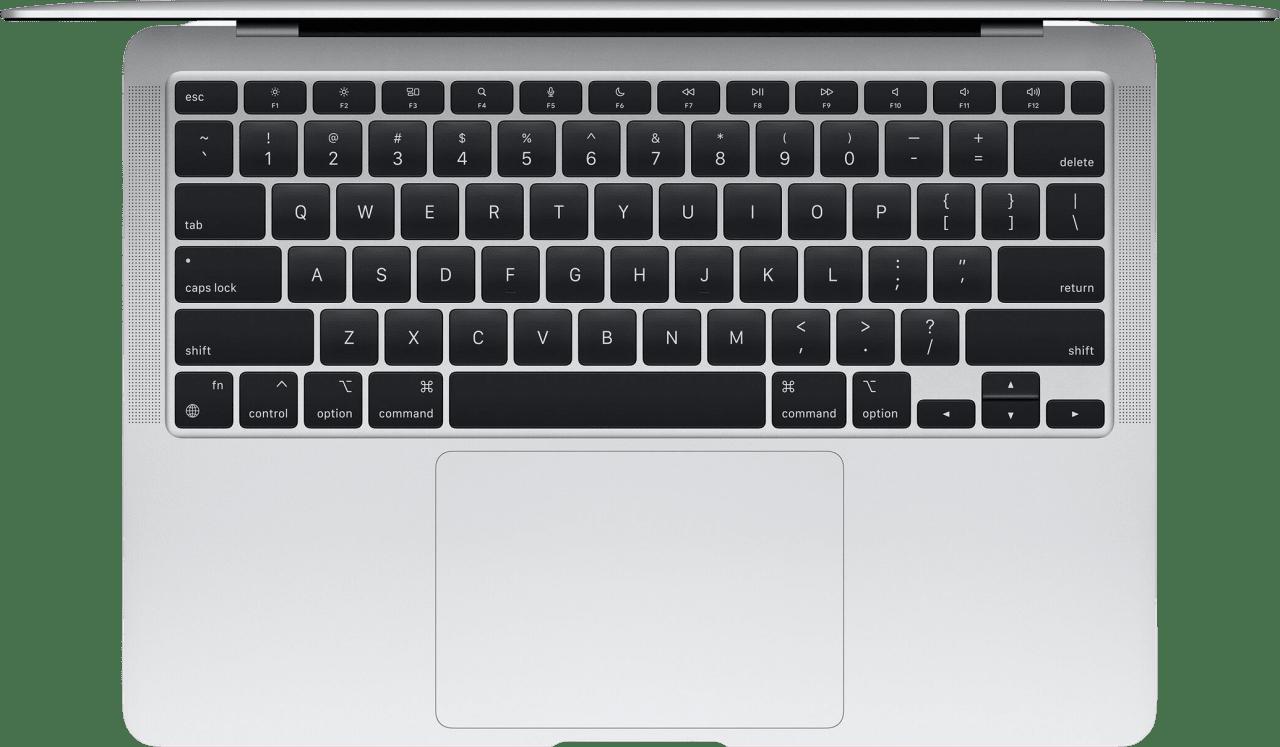Plata Apple MacBook Air (Late 2020) - English (QWERTY) Laptop - Apple M1 - 8GB - 512GB SSD - Apple Integrated 8-core GPU.2