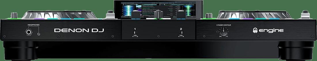 Schwarz Denon DJ Prime 2 All-in-One-DJ-Controller.3
