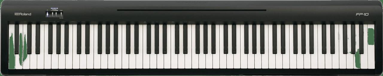 Black Roland FP-10 Digital Piano.4