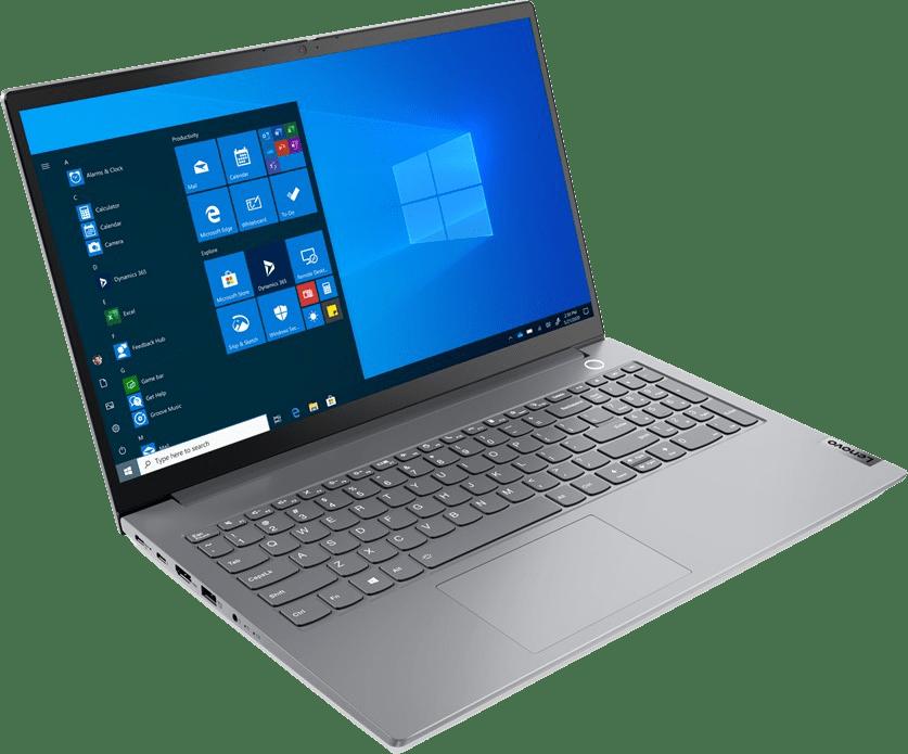 Mineral Grey Lenovo ThinkBook 15 G2 Laptop - Intel® Core™ i7-1165G7 - 16GB - 512GB SSD - Intel® Iris® Xe Graphics.2