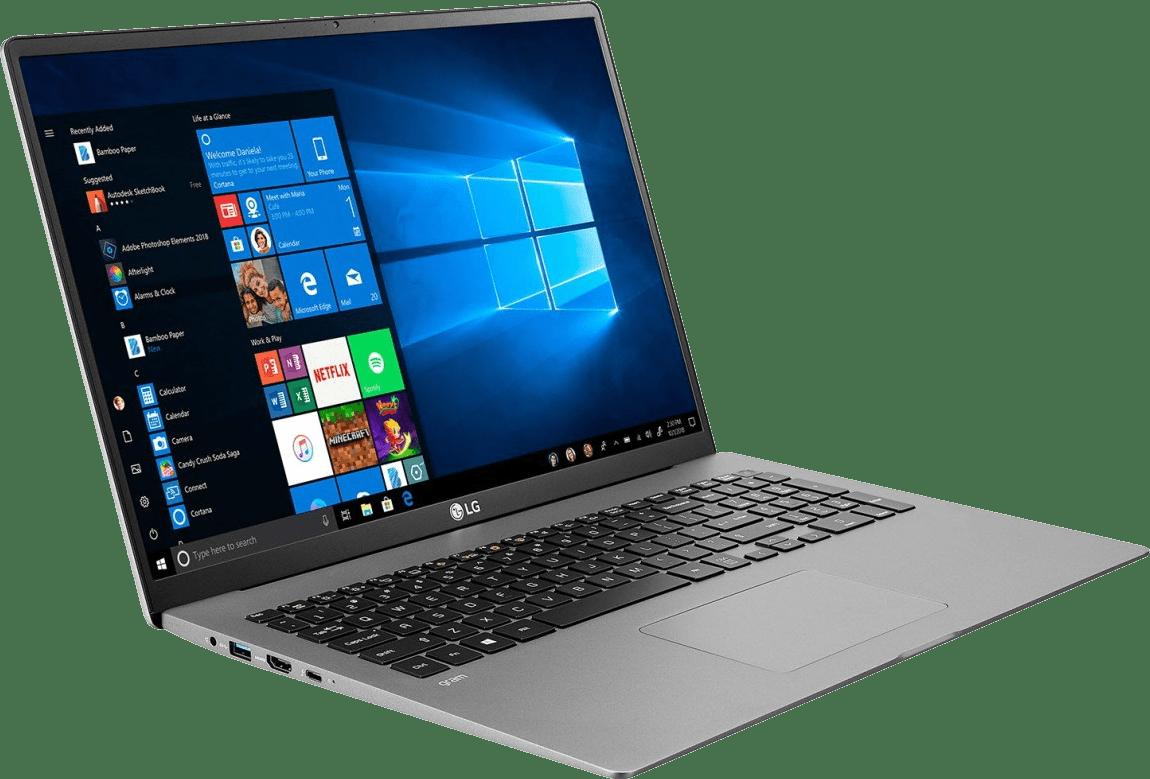 Dark Silver LG gram 17 Business Edition Laptop - Intel® Core™ i7-1065G7 - 16GB - 1TB SSD - Intel® Iris® Plus Graphics.3