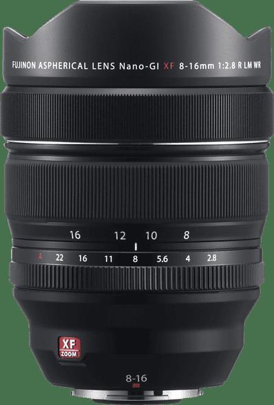 Black Fujifilm Fujinon XF 8-16mm 1:2.8 R LM OIS WR Lens.1