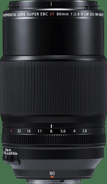 Black Fujifilm Fujinon XF 80mm 1: 2.8 RL OIS WR Macro Lens.1