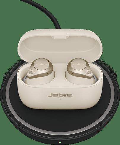 Beige Jabra Elite Active 85t Noise-cancelling In-ear Bluetooth Headphones.4