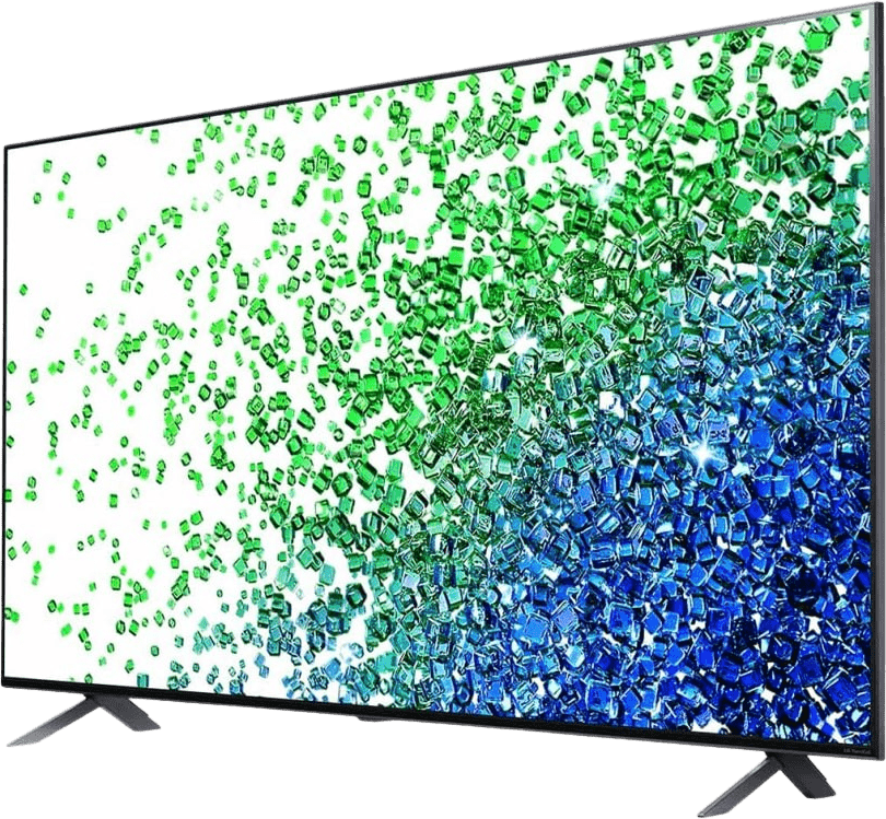 "Black LG TV 55"" 55NANO809PA.AEU NanoCell LED UHD 4K.2"